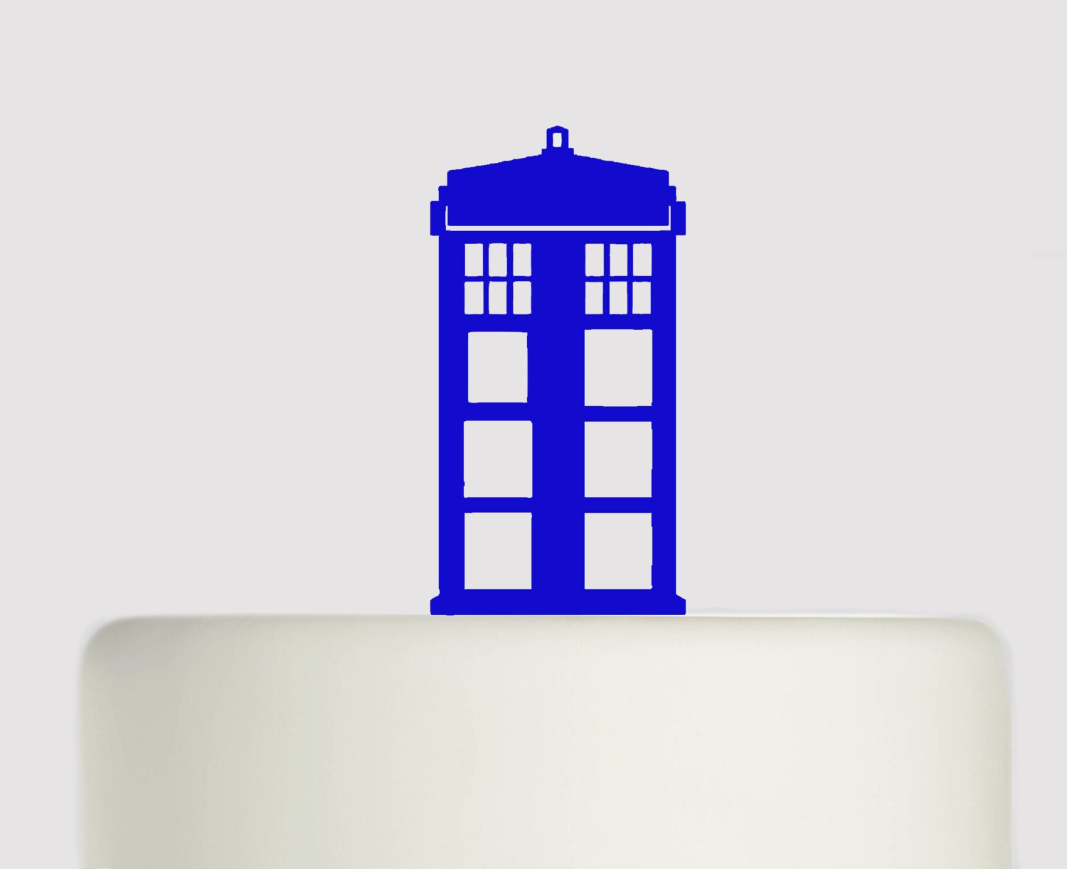 Birthday Cake Topper Doctor Who Tardis Acrylic Cake Topper
