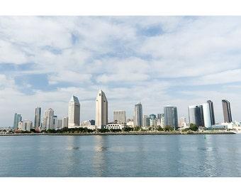 San Diego Bay downtown skyline