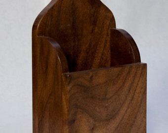 Walnut Hanging Box