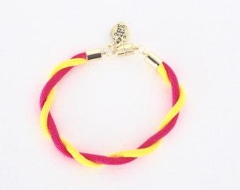 Neon Twist Bracelet