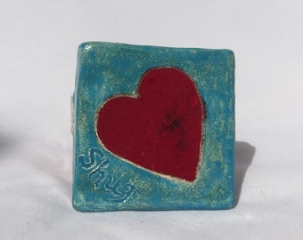 Ceramic and Glass Tile Magnet
