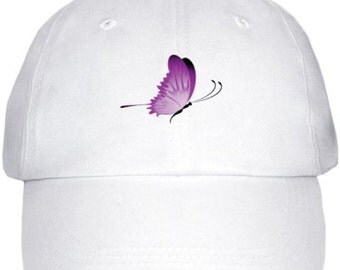 Purple Butterfly Wings Survivor Hat