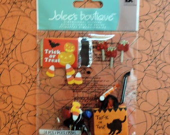 Halloween candy scrapbook stickers by Jolee's boutique