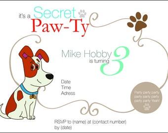 it's a Secret Paw-Ty!!!