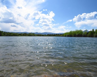 Daigre Lake in La Veta, Colorado, Original Photography