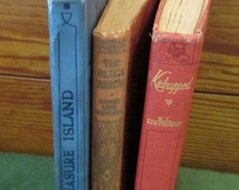 Three  Old Collectible Books -