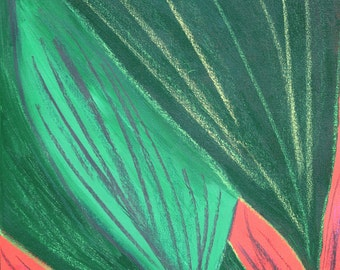 Green Leaves - Original Art