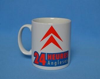 Retro Pit Crew Mug, 2CV 24 Hour Race Anglesey 2014