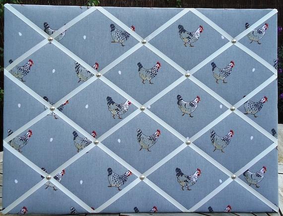 Sophie Allport Chickens Notice Board/Memo Board 60cm x 45cm