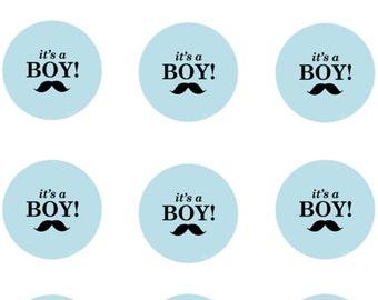 It's a Boy Edible Images