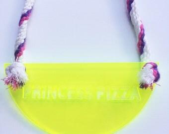 Princess Pizza Necklace