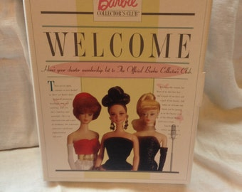 Barbie Club Welcome Kit 1996