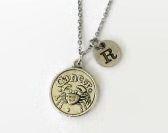 Cancer Zodiac Jewelry - Cancer Astrology Jewelry - Cancer - Cancer Necklace - Zodiac Jewelry - Valentine Gift Idea - Gift Under 15 - Zodiac