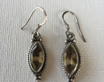 Handcrafted Citrine Earrings