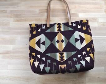 Pendleton Wool Tote Bag