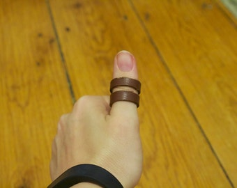 Leather Thumb Ring