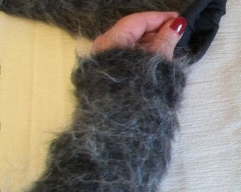 Turn wrist warmers arm warmers wool gloves fingerless HandschuheMode fashion winter fashion
