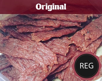 Original - Regular  (All Natural Beef Jerky or All Natural Turkey Jerky)