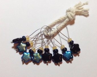 Galaxy Star Knitting Stitch Markers