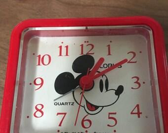 Lorus Disney Alarm Clock #101R- KKAD