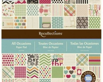 Recollections All Occasions Paper Pad