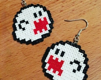 Mario Boo earrings