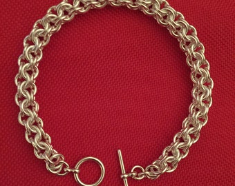 Chainmaille Weave Bracelet