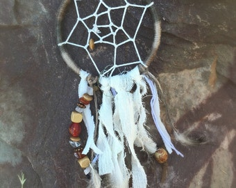 Mini Rustic Dreamcatcher