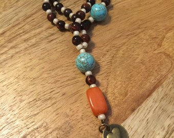 Protestant Prayer Beads with love/heart charm