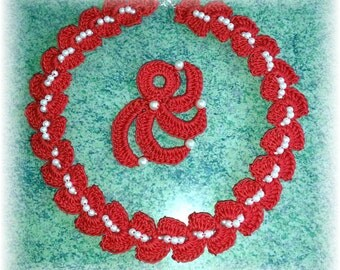 light chain red with badges