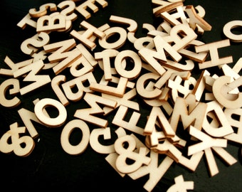 Extra Letters for Letter Board