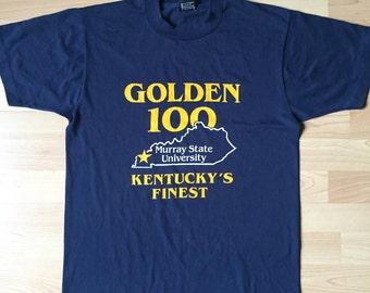 "Vintage 80s t-shirt ""Golden 100"""