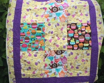 Tea Time and Cupcake Quilt