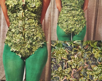Very detailed Poison ivy costume