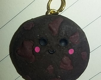 Polymer Clay Double Chocolate Chip Cookie