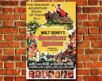 Disney Swiss Family Robinson Movie Poster #160
