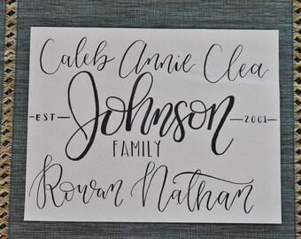 Family Print (Style #1)