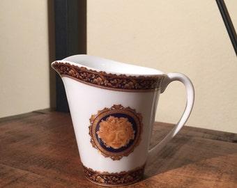 Vintage Bacchus Porcelain Cream Dispenser