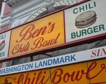 8x10 Photo // Ben's Chili Bowl // Other Sizes Available