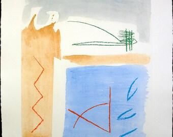 Untitled, around 1980. Lithograph by Albert RAFOLS CASAMADA