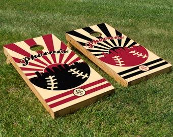 Arizona Diamondbacks Cornhole Board Set