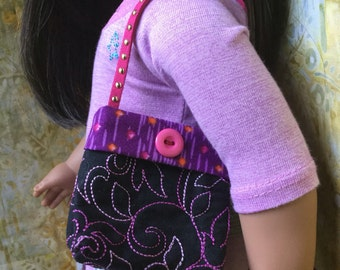 Purse For American Girl Or Similar Sized Dolls Ready To Ship