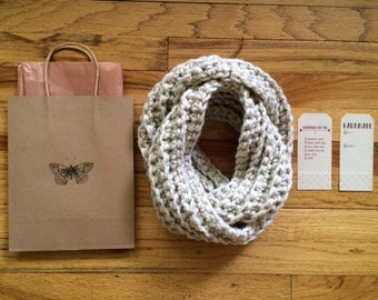 Gift Wrap for Infinity Scarf