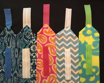 Set of 4 Patterned Polo Wraps