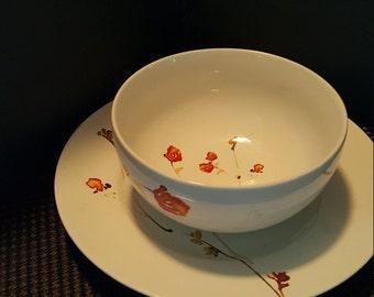 222/Fifth BEAUTIFUL Bowl & Saucer