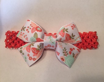 Baby Girl/Toddler Floral Headband