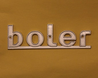 Boler Emblem Replica