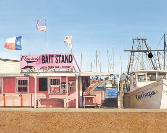 Flemings Bait Stand