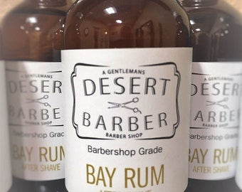 Desert Barber Bay Rum Aftershave