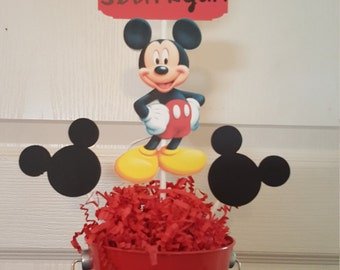 Mickey Mouse Party Centerpiece-Set of 5